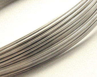 Stainless Steel Wire - Nickel Free - You Pick Gauge 8, 10, 12, 14, 16, 18, 20, 22, 28 and Length -  100% Guarantee