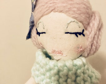 Handmade Heirloom Doll- Little Miss Bonnie
