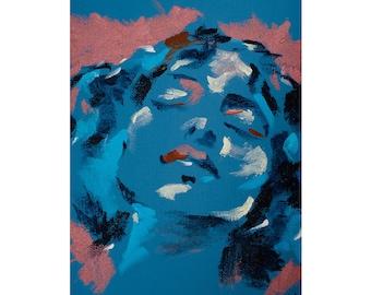Abstract art, abstract painting, wall art, original art, original painting, colourful wall art, modern art, contemporary art, woman art