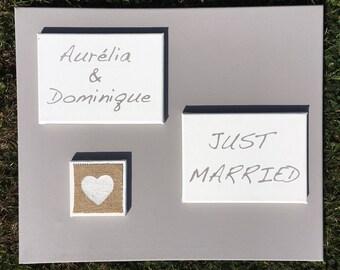 Custom table - wedding gift idea