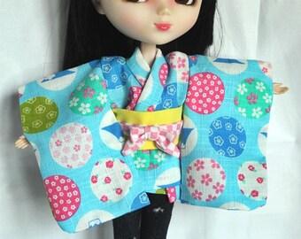 Mini kimono pullip,doll,outfit,BJD