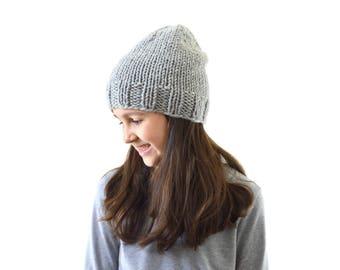 Kids Knit Slouchy Beanie Hat Toque, Children Beanie Hat, Boys Girls Beanie Hat | The Newark