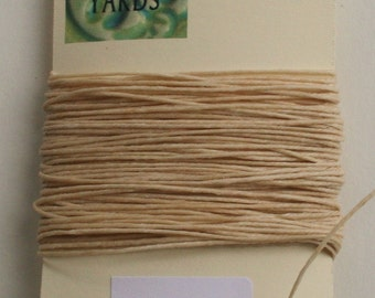 10 yrds Natural 4 ply Irish Waxed Linen Thread
