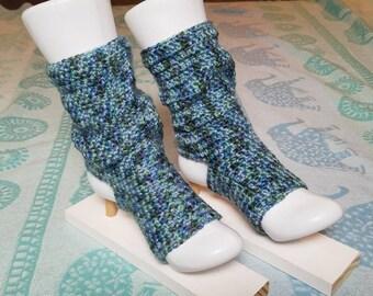 Slouchy Aqua Yoga, Pedicure, Pilates, Dance, Flip-Flop Socks