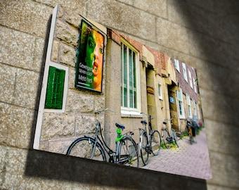 Amsterdam Street, Large Wall Art, Canvas Print, wall decor, gift, office decor, Beautiful Canvas Finish, home decor