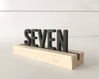 Letter board table numbers, wood table numbers, laser cut table numbers, wedding table numbers, letterboard
