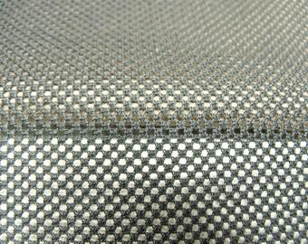 Black mesh net fabric