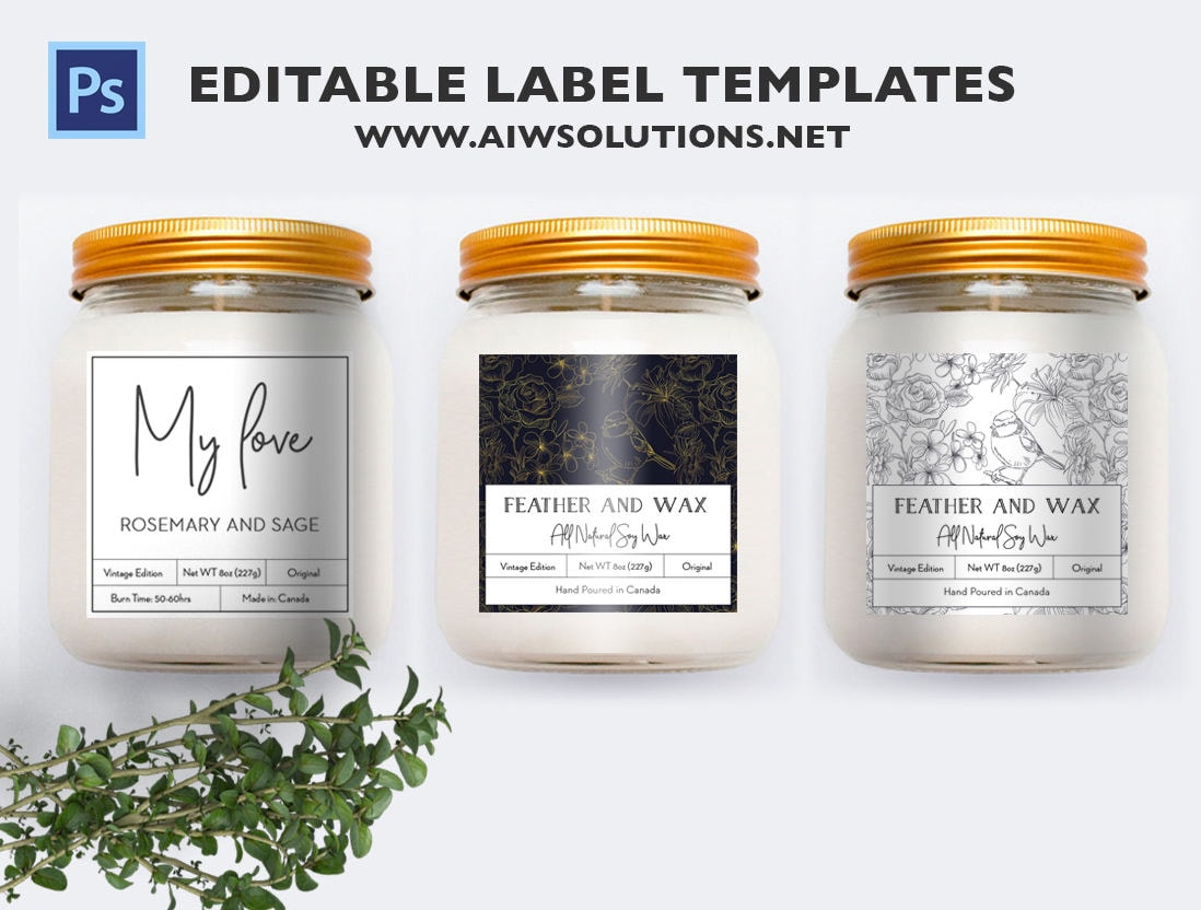 black and white and gold label template cookie mason