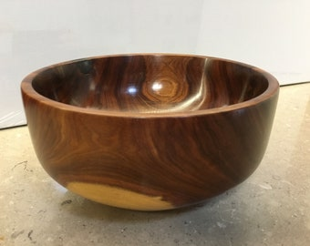 Fruit Bowl Or Table Centrepiece Yarran Australian Timber Unique Handmade Gift