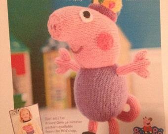 George Pig Knitting Pattern