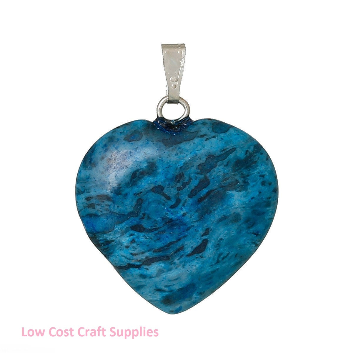 Kyanite pendant heart pendant blue heart gemstone heart mottled 210 mozeypictures Image collections