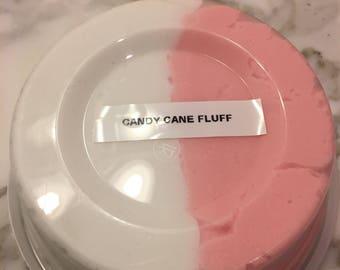 Candy cane fluff