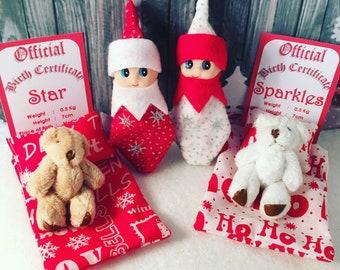 Baby Elf Dolls Twins Star & Sparkles The Shelf Sitters