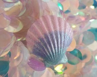 Seashell Hair Barrette