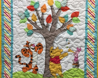 Winnie the Pooh Baby quilt