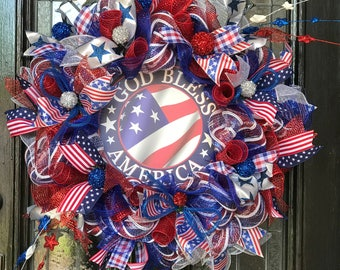 Proud to be an American Wreath.
