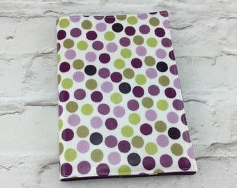 Spotty Oilcloth A5 book cover