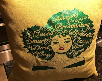 Throw Pillows 18x18 (Mildred) - your choice of colors