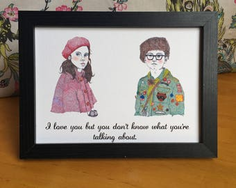 Moonrise Kingdom Wes Anderson Art Print