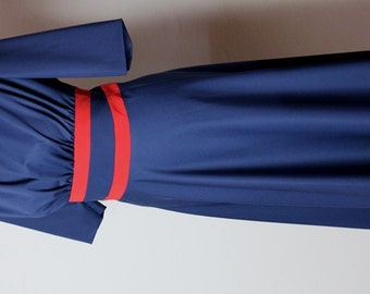 SALE 10 first orders 40% off  Agent Carter Margaret Peggy Carter Navy Retro Dress Cosplay