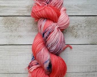 Dyed to Order: Mario | Sock Yarn | 100g Skein