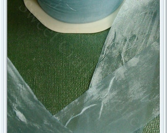 Bertie Bows 38mm Silky Crush Ribbon, Sheer Ribbon,