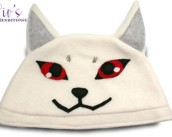 Persona 3 - Koromaru Hat / Fleece Hat / Winter Hat / Persona Hat / Video Game Characters