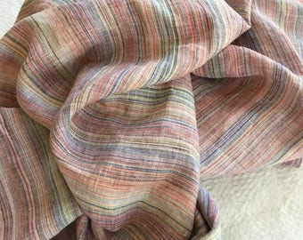 Linen baby blanket, swaddle blanket, by WillaMae