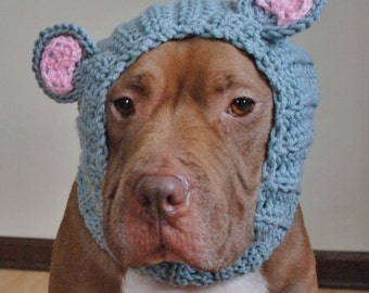 Mouse Dog Snood Crochet Made to Order