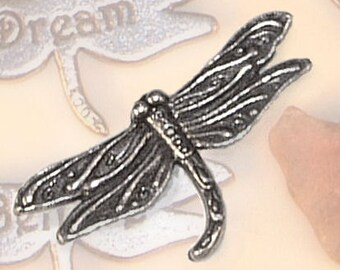 Dragonfly Charm-Inspirational Gift-Good Luck Charm-ON A WHIM Signature pocket charm