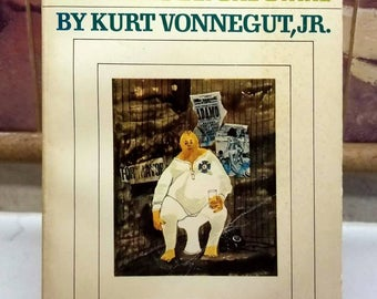 Kurt Vonnegut, God Bless You, Mr. Rosewater, Rare 1st Edition/1st Printing Softcover (1968)