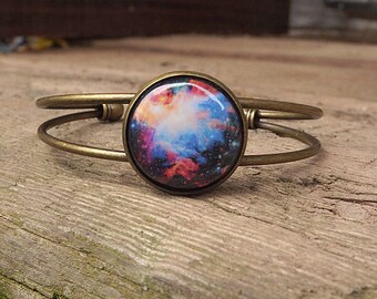 Galaxy Space Bracelet, Space Bracelet, Galaxy Bracelet, Solar System Planet And Nebula Bracelet Universe Jewelry Space Jewelry