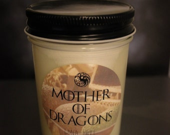 Mother Of Dragons Game Of Thrones Inspired 100% Soy Candle