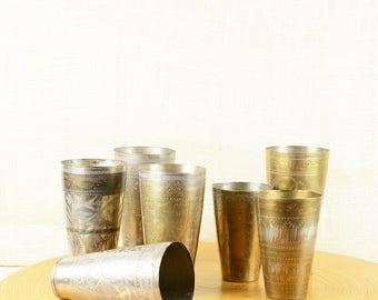 Vintage Indian Lassi Cup