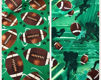 Sports fabric  - football fabric  - football - fabric  - material - sewing -supply notion - bty - 1yard
