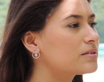 Pendulous Diamond Earrings