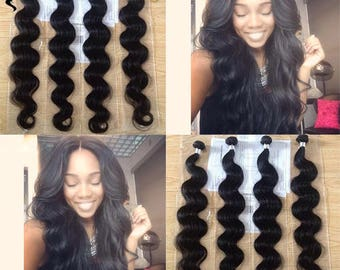 Set of 3 Indian Body Weave weaves