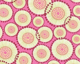 Moda Fabric - For You Poppy - Zen Chic - Raspberry 1570 12 - Cotton fabric by the yard(s)