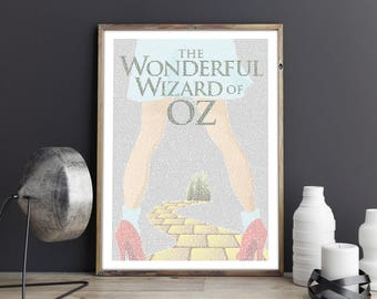 The Wonderful Wizard Of OZ - Book Poster