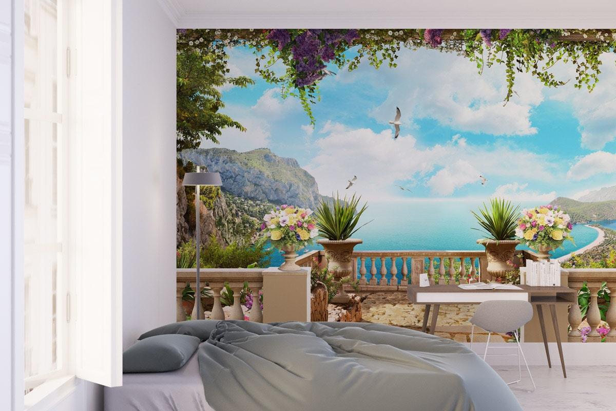 Trompe L\'Oeil Wallpaper Removable wallpaper Peel and