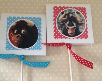 Ferdinand Party Lollipop Favors - Set of 10