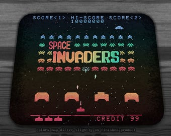 Invader Space Mousepad
