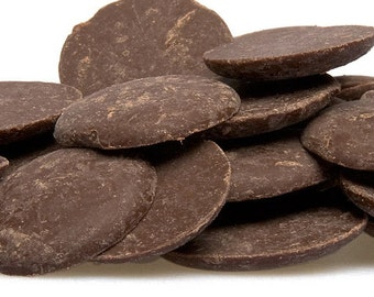 2 lb Raw Pure Organic Dark/Black Cocoa Butter with Rich Chocolate Aroma