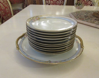 JAPAN MEITO CAKE Plate and Desert Plates