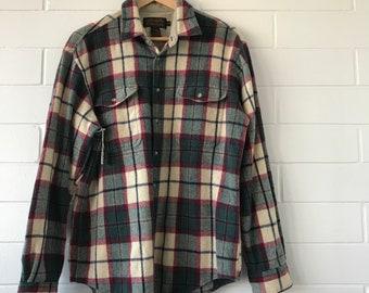 eddie bauer vintage wool plaid jacket