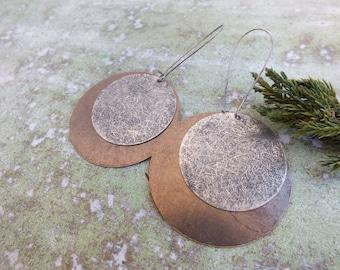 Boho Earrings,Bohemian earrings, Antique Silver Earrings, Dangle Earrings, Drop Earrings,