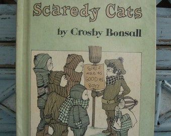 The Case of the Scaredy Cats by Crosby Bonsall