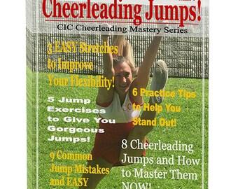 Cheerleading Jumps Ebook, Cheerleading Coach, Cheerleading Mom, Cheer Coach, Cheerleading Gift, Cheerleader Gift, Cheerleading Bow