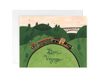 Greeting Card - Bon Voyage