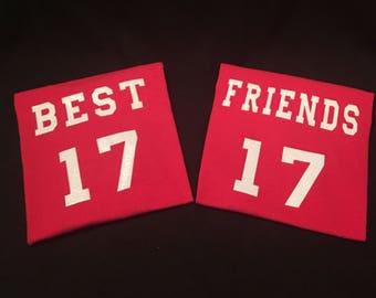 Best Friend Shirts Set